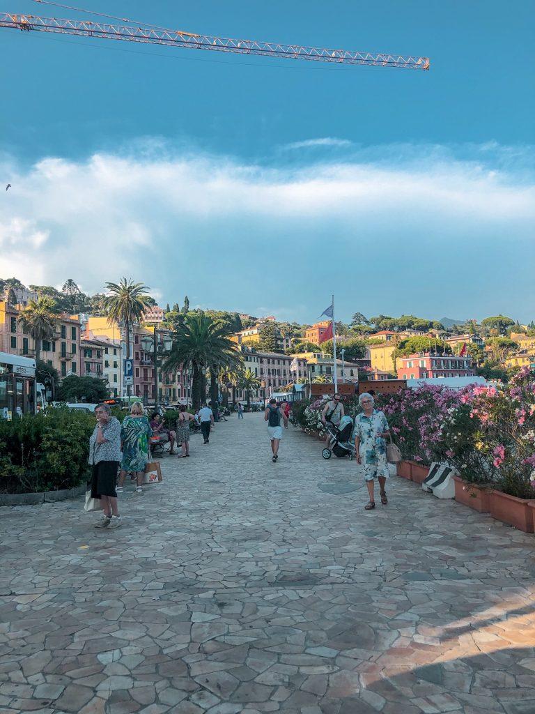 La promenade di Santa Margherita Ligure