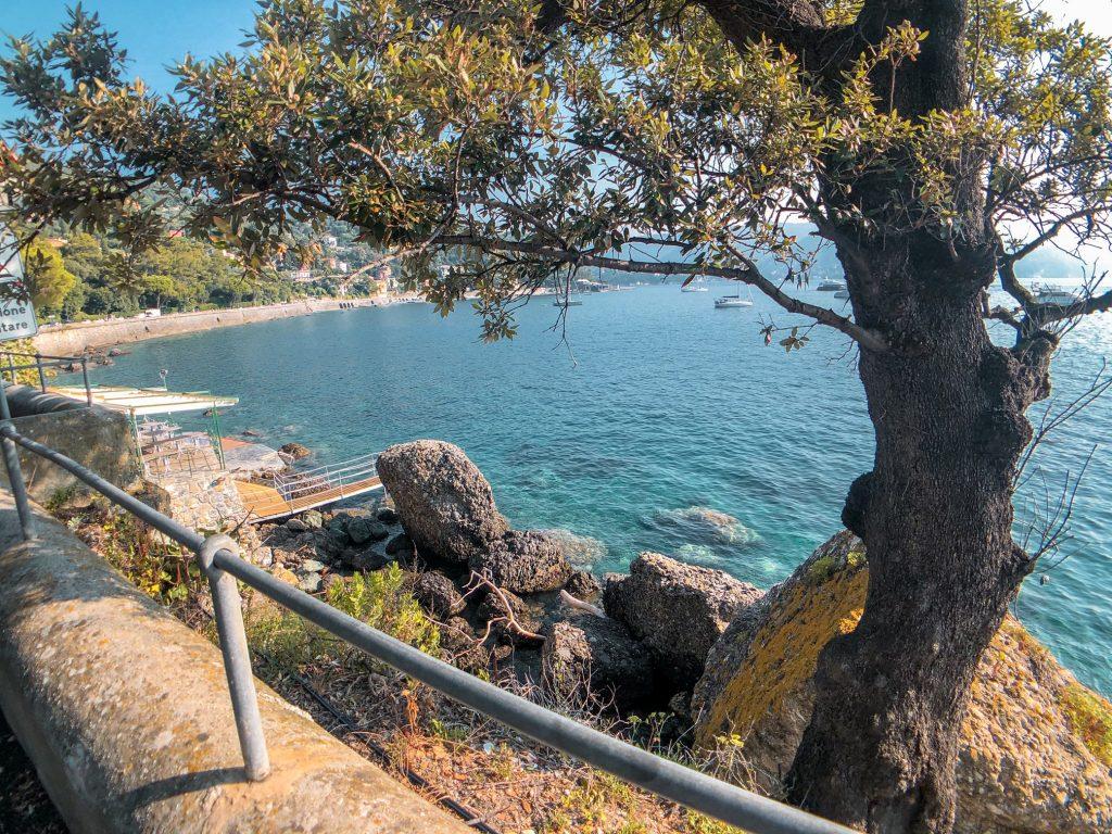 La pedonale da S. Margherita ligure a Portofino