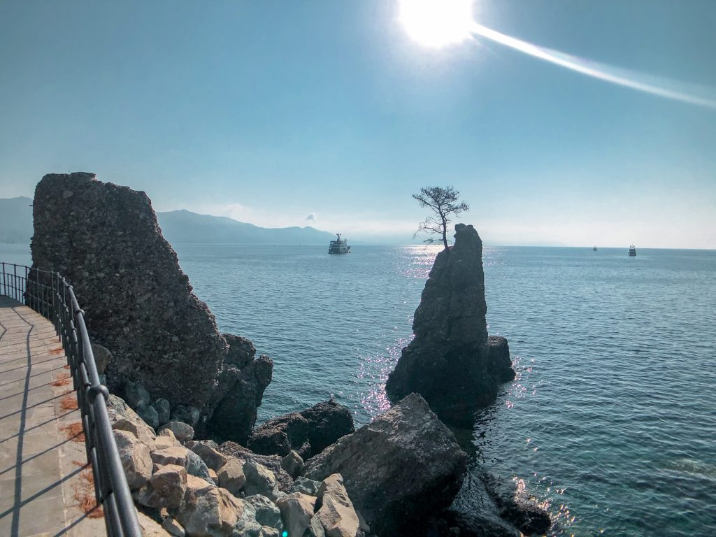 Scorci della pedonale Santa Margherita ligure -Portofino