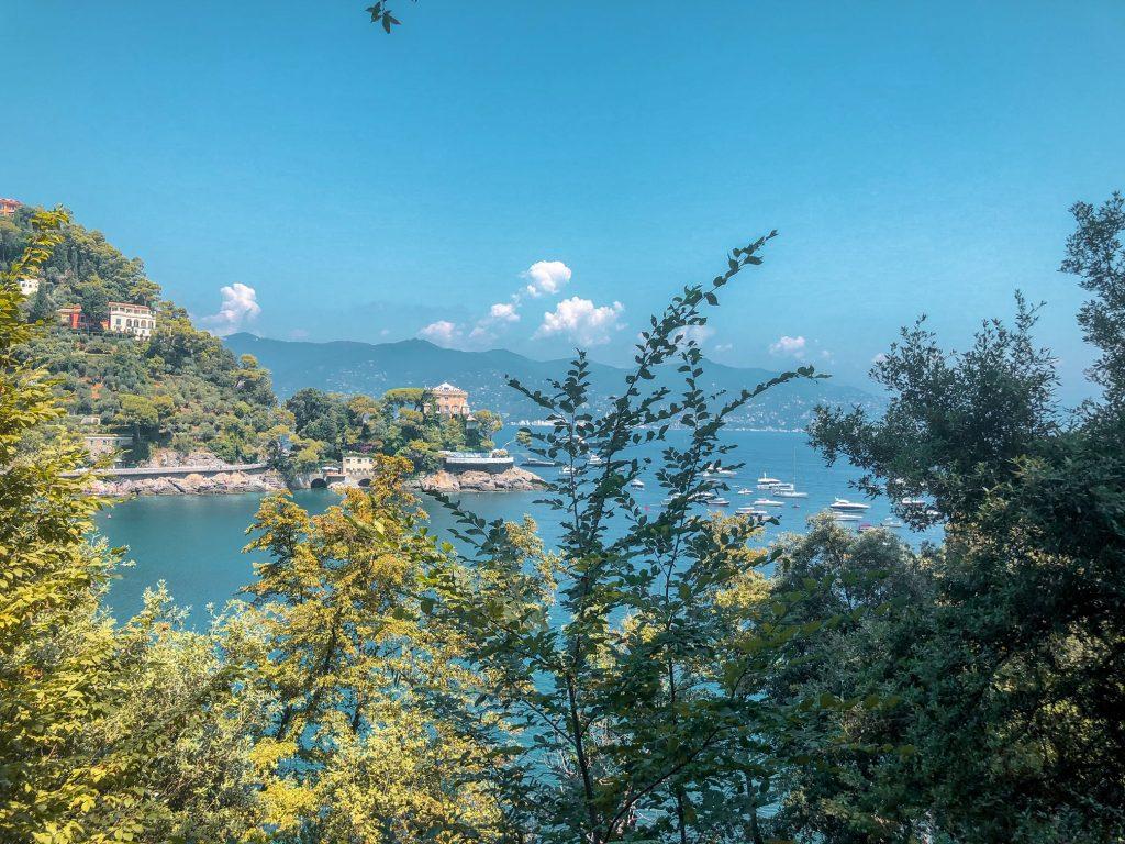 Scorci del Parco di Portofino